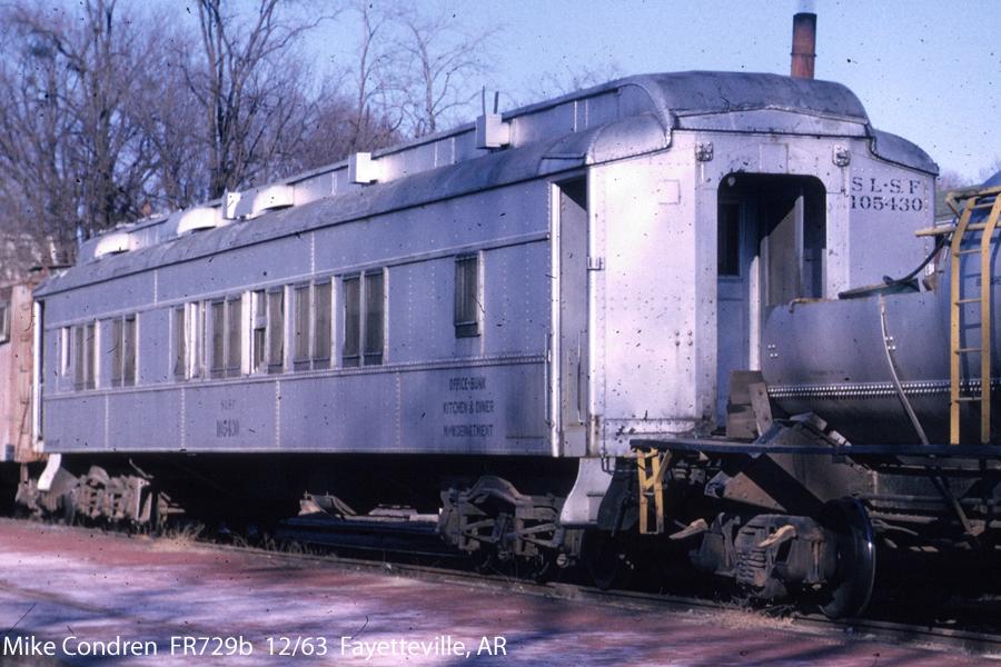 Cars On Line >> Frisco Non-Locomotive Photos