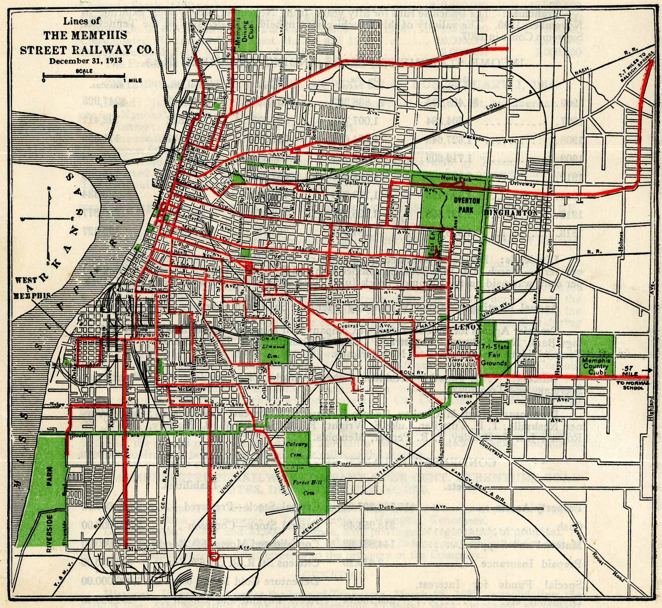 Street Railway Paper