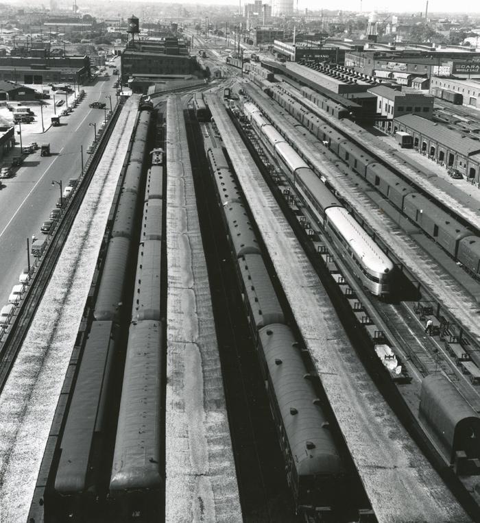 Memphis Frisco Passenger Trains Pictures